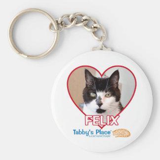 Button Keychain - Felix