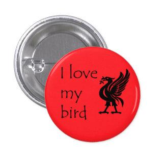 Button - Liverpool Liverbird