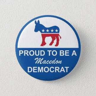Button Macedon Dems 2