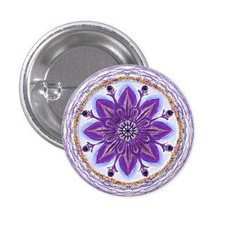 "Button Mandala 10 ""king-blue """