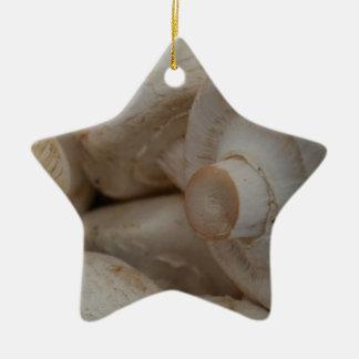 Button Mushrooms Ornaments