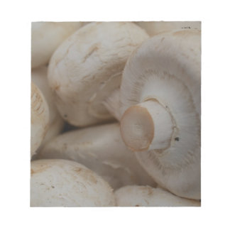 Button Mushrooms Note Pad