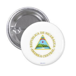 button - Nicaraguan coat of arms