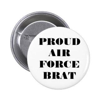 Button Proud Air Force Brat