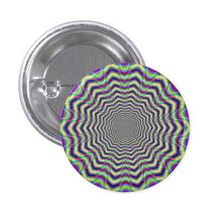 Button   Psychedelic Web Star