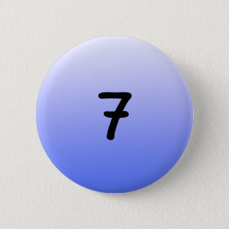 button round blue number seven