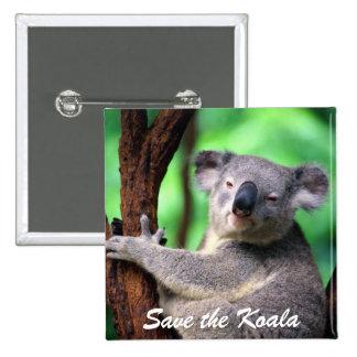 Button-Save the Koala Bear