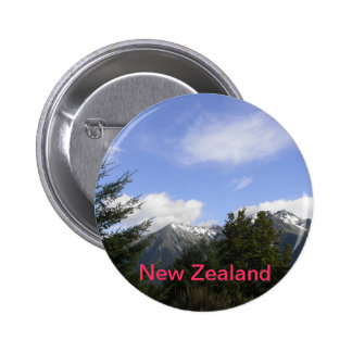 BUTTON - Snow capped Mountains