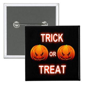 Button Trick Or Treat Pumpkins