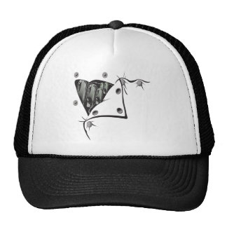 Button Up Mesh Hats