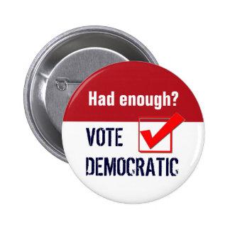 Button - Vote Democratic