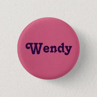 Button Wendy