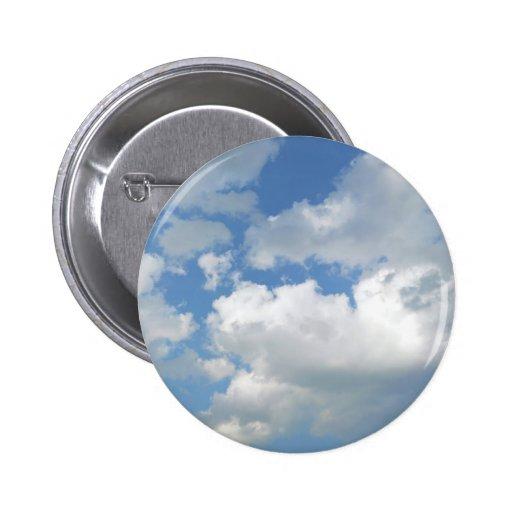 Button with Sky and clouds
