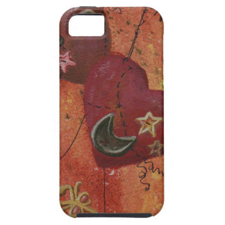 Buttoned Hearts and Skeleton Key Case For The iPhone 5