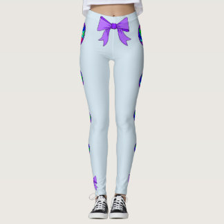 Buttons and Bows Leggings