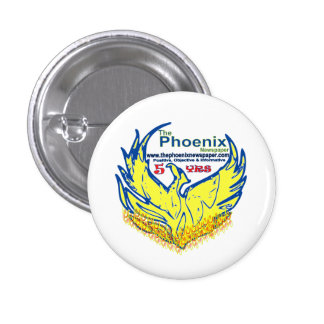buttons-customized-phoenix newspaper launch 3 cm round badge