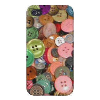 Buttons iphone Case iPhone 4 Cases