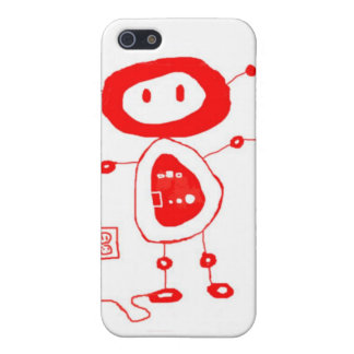 Buttons the robot cover for iPhone 5