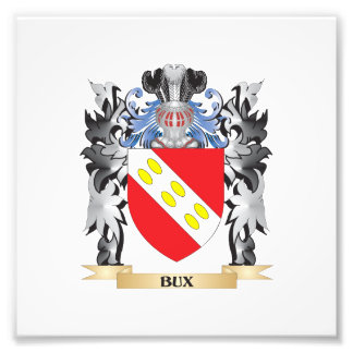 Bux Coat of Arms - Family Crest Photograph