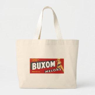Buxom Melons Canvas Bags