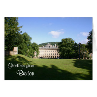 Buxton 'open' greetings card
