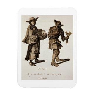 'Buy a new Almanac! Fine writing ink!', illustrati Rectangular Photo Magnet