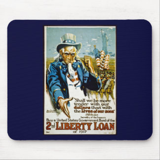 Buy a United States Government Bond  1917 Mouse Pad