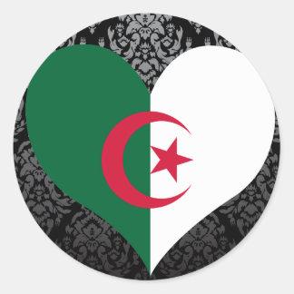 Buy Algeria Flag Classic Round Sticker
