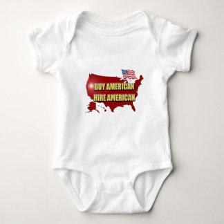 Buy America!  Hire America! Baby Bodysuit