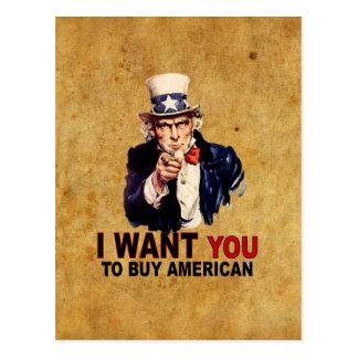 Buy American Postcard