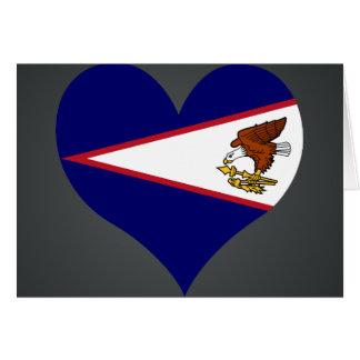 Buy American Samoa Flag Card