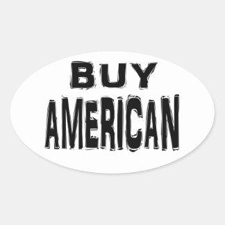 Buy American sticker