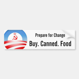 Buy. Canned. Food Bumper Sticker