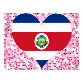 Buy Costa Rica Flag Postcard