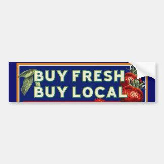 Buy Fresh, Buy Local Bumper Sticker