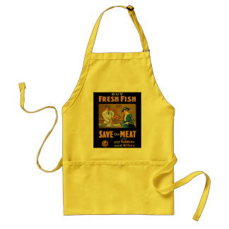 Buy Fresh Fish Patriotic WW1 Standard Apron