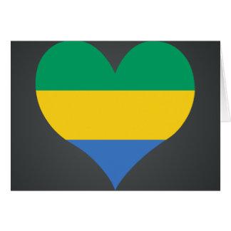 Buy Gabon Flag Card