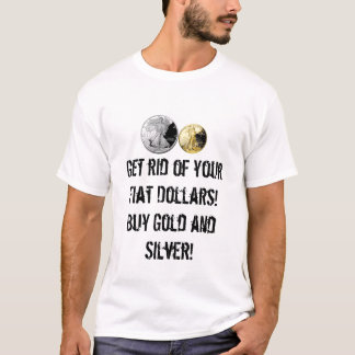 Buy Gold and silver T shirt! T-Shirt