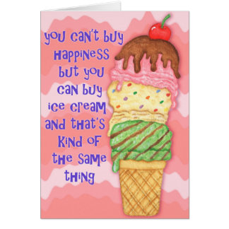 Buy Ice Cream Card