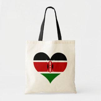 Buy Kenya Flag Tote Bag