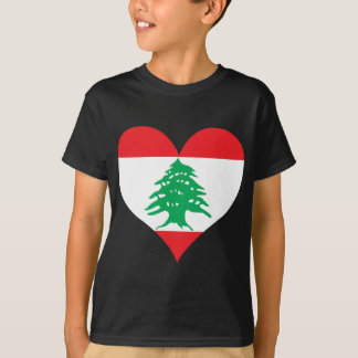 Buy Lebanon Flag T-Shirt