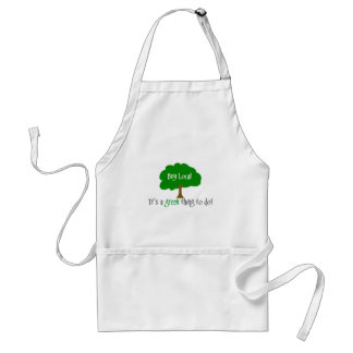 Buy Local Adult Apron