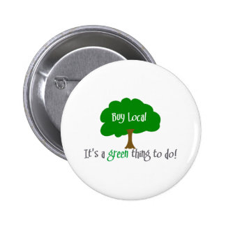 Buy Local Pinback Button