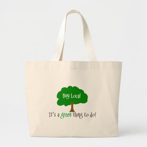 Buy Local Canvas Bags