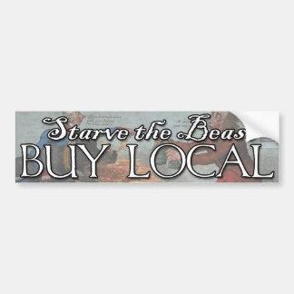 Buy Local! Car Bumper Sticker