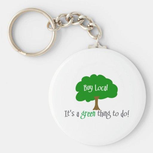 Buy Local Key Chain