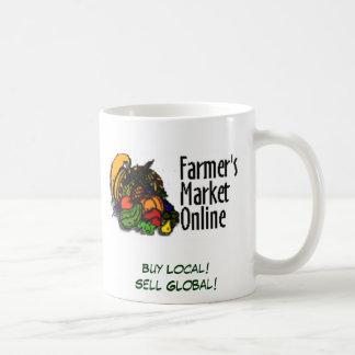 Buy Local! Sell Global! Basic White Mug