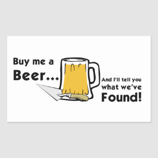 Buy Me a Beer... Stickers