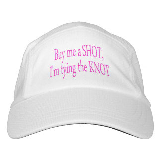 buy me a shot...I'm tying the knot Hat