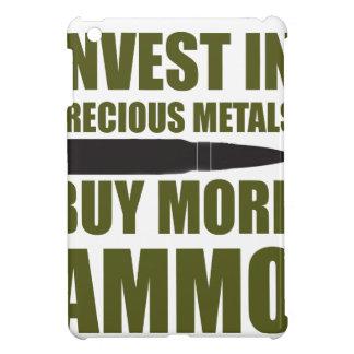 Buy more Ammo, invest in Metal iPad Mini Cases